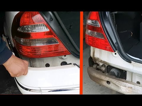 Removing Rear Per On Mercedes W211 How To Remove The For