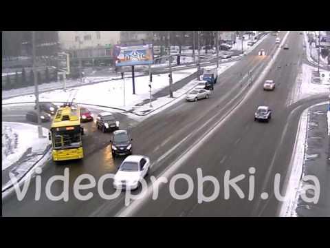 Задержание угонщика в Киеве