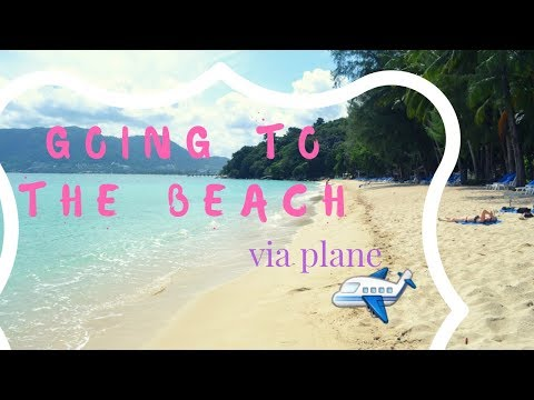 Travel : Taking a plane to go to the beach?!? 😮