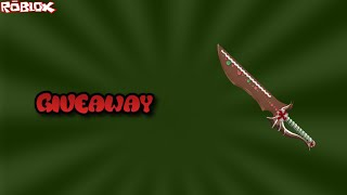 HOW TO WIN A CANDY SLAYER! *GIVEAWAY ITEM* (ROBLOX ASSASSIN CANDY SLAYER GIVEAWAY)