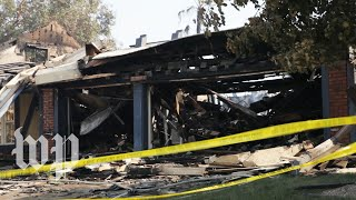 'You need to leave the house': Racing to escape the fast-moving wildfire in Los Angeles County