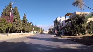 Tunisie Route vers Hammamet filmée en Gopro  / Tunisia Road to Hammamet filmed by Gopro