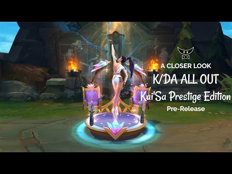 K/DA ALL OUT Kai'Sa Prestige Edition (Pre-Release)