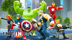 DIE AVENGERS Iron Man Hulk Deutsch Spiele Marvel Superhelden Videos DISNEY INFINITY 2.0