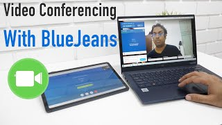 Airtel BlueJeans Web Conference Tool App Overview