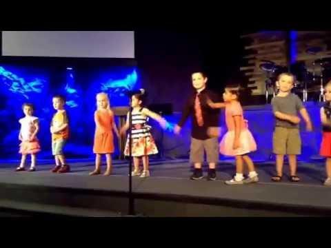 Brianna Recital at Sunflower Montessori... 2016