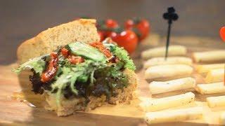 肥媽食譜 | 水牛芝士麵包拼盤
