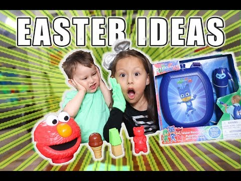 EASTER BASKET IDEAS FOR KIDS!