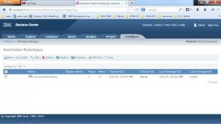 Quick Build Ibm Operational Decision Manager Part 6 - Revisting The Enterprise Console