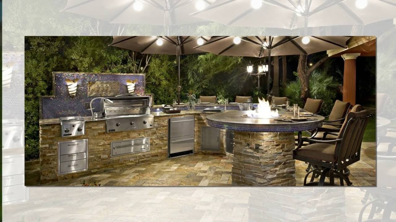 Outdoor Bar Top 40 Ideas - YouTube on Best Backyard Bars id=67600