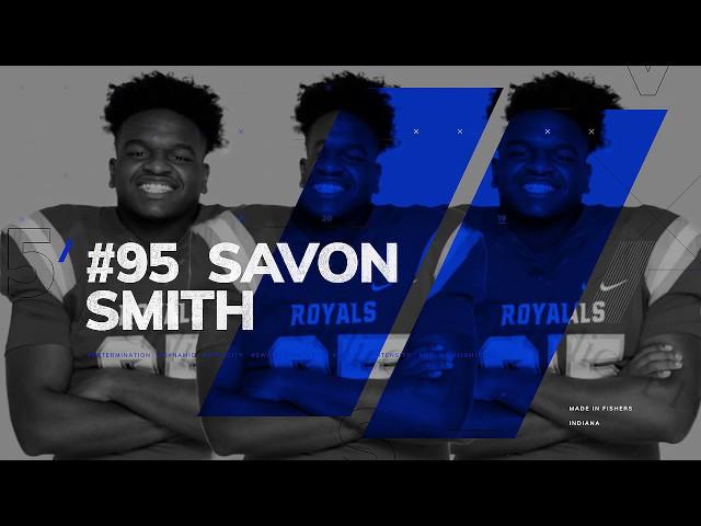Savon Smith's HS Football Reel