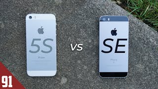 iPhone 5S vs iPhone SE - 2019 Comparison