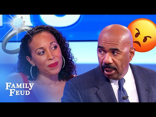 Ladies, NEVER do this with your wedding ring! | Family Feud