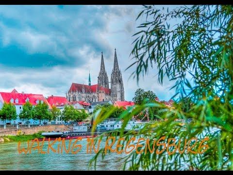 Walking in Regensburg