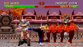 Mortal Kombat 2 Challenger Hack Johnny Cage 60FPS Gameplay Playthrough