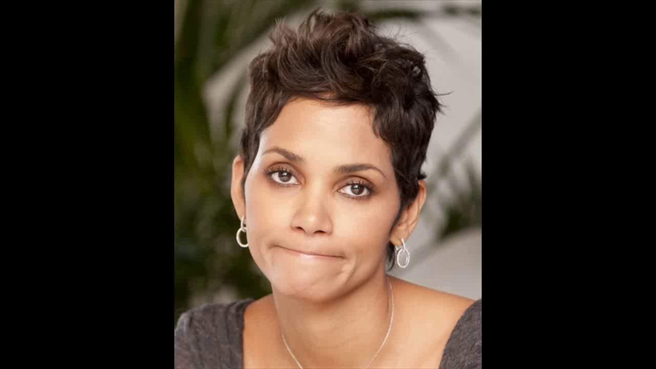 Halle berry short hairstyles youtube halle berry short hairstyles urmus Image collections