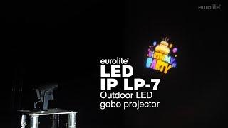 EUROLITE LED IP LP-7 Logo Projector