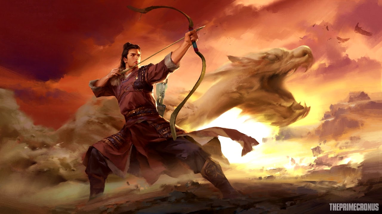 Asian Girl Wallpaper Samuele Birolini The Dragon Warrior Fantasy Asian