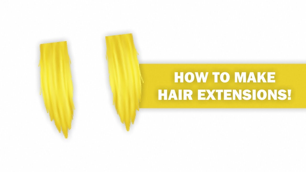 Roblox Speed Design How To Make Hair Extensions Youtube