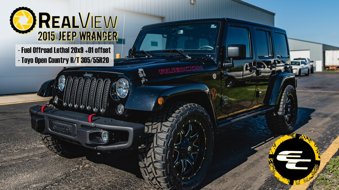 Realview 2015 Jeep Wrangler W 20 Quot Fuel Offroad Lethals