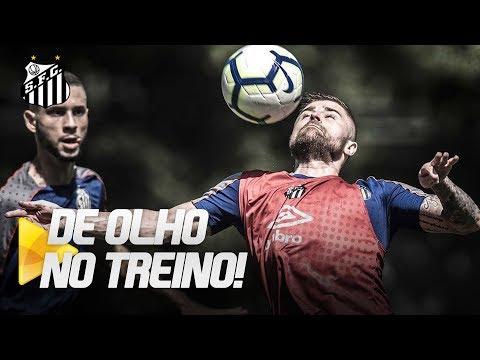 SANTOS SE REAPRESENTA NO CT REI PELÉ | DE OLHO NO TREINO (24/06/19)