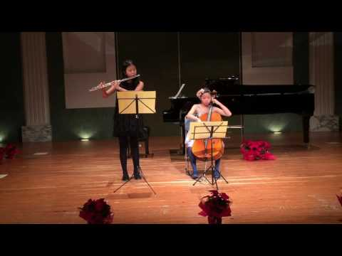 J. Pachelbel Canon: flute and cello duet