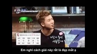 [Vietsub] Vì sao nói BTS RM Namjoon thông minh #1 - Problematic Man Show