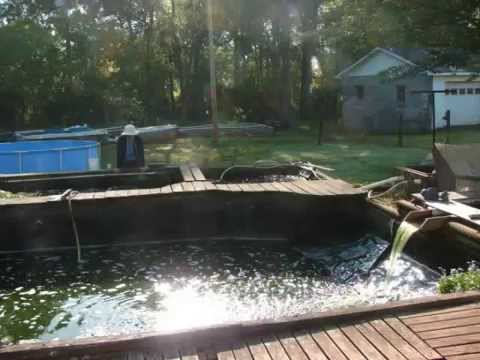 how to build a pond vacuum