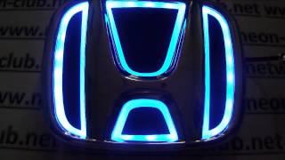 Honda car parts chrome emblems for Civic, CR-V 07, Accord 08-09 led honda crv tuning