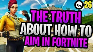 The TRUTH About Improving Your Aim/Accuracy In Fortnite! (How To Aim Better Console Fortnite)
