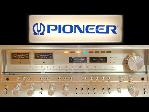 SX-1980 - The Most Powerful Pioneer Receiver Ever! Vintage Stereo Repair Restoration & Testing.