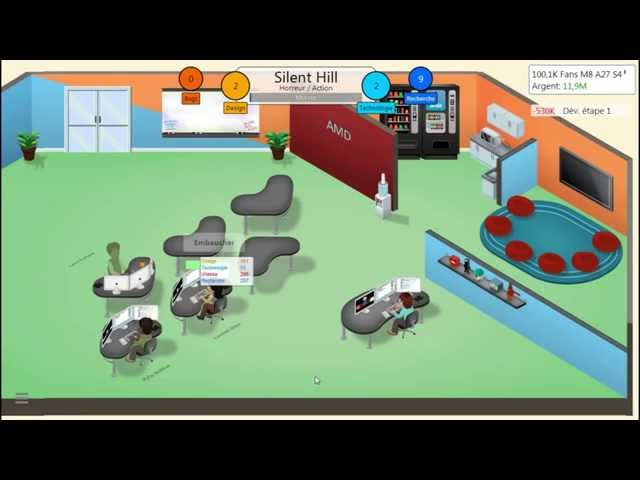 Sans Commentaire: Game Dev Tycoon Partie 16 1080P/60FPS