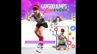 Kangoo Jumps® Live Event June 13/14, 2020 - Ritsa Mazur Kangoo Power™