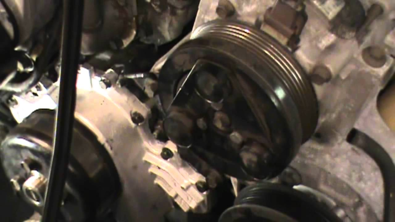 ford ranger water pump replacement on a 4 liter v