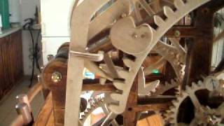 Wooden Chiming (stricking) Clock -wooden Gear Chiming Clock