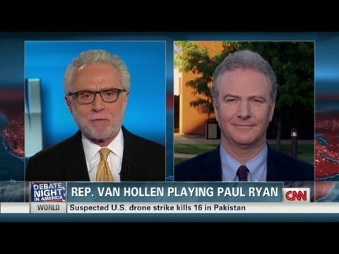 Van Hollen played Ryan in Biden
