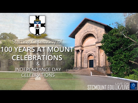 Independence Day and 100 Years at Mount Starting Ceremony