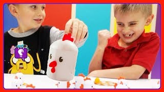 Peek-a-Doodle Doo Chicken Memory Game! Play with HobbyKidsTV