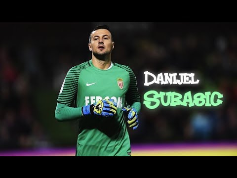 Danijel Subašić 2016/17 Amazing saves - AS monaco