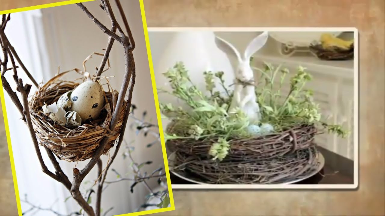 Easter decorating ideas spring decor with nests and for The nest home decor