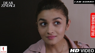 Dear Zindagi | Deleted Scene | I Am Sorry | Alia Bhatt, Shah Rukh Khan, Kunal Kapoor