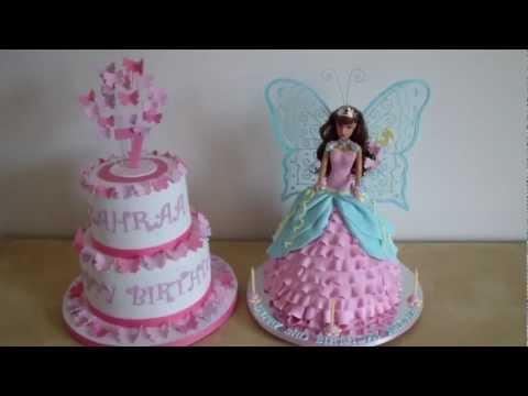 How To Make A Doll Cake Barbie