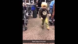 Kid on a Leash