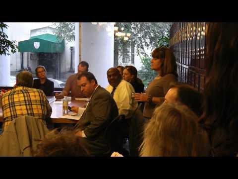 New Roots Charter School, 9/27/12 Board meeting re: Tim Turecek removal