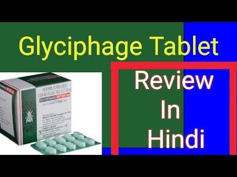 glyciphage sr 500mg fogyás esetén