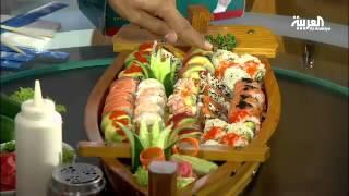 تعرف على أنواع السوشي الياباني