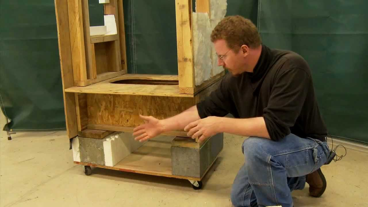Crawl Spaces Exterior Vs Interior Insulation Youtube