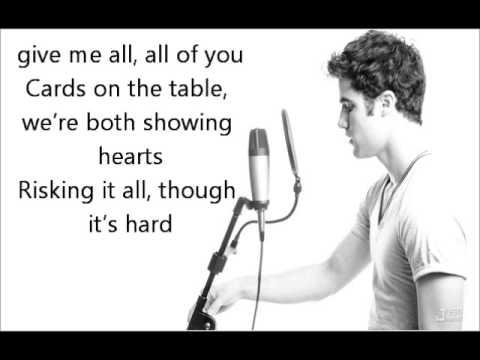 All Of Me Lyrics Acapella