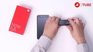 Распаковка смартфона Xiaomi Redmi Note 5A Prime с объёмом памяти 64 Гб