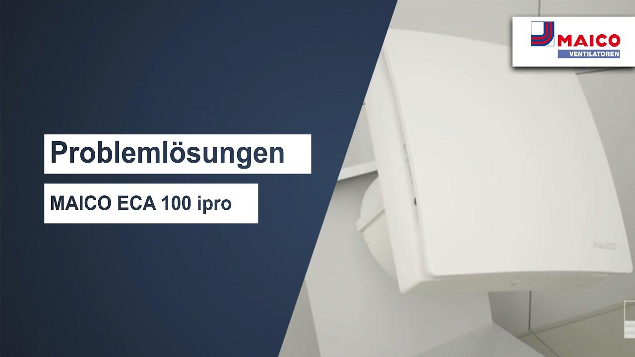 Maico Eca 100 Ipro Kh Lufter Mit Feuchtesteuerg Innenverschluss O100mm Lufter Fur Bad Wc O100